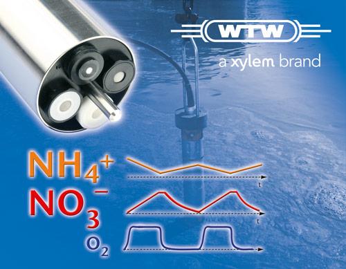 Ammonium- und Nitrat-Messung </br>mit ISE-Sensoren  (z.B. VARiON<sup>® <em>Plus</em></sup> 700 IQ)