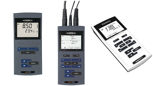 Portable meters for analog sensors