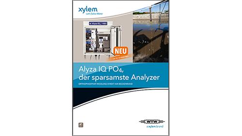 Alyza IQ PO<sub>4</sub> für die Orthophosphat-Messung