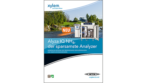 Alyza IQ NH<sub>4</sub> für die Ammonium-Messung
