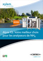 Cover of French product flyer Alyza IQ NH4