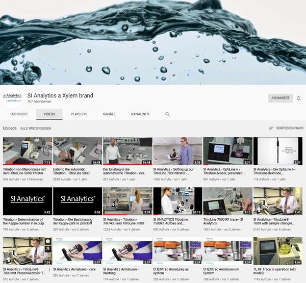 Alle Videos des Brands SI Analytics