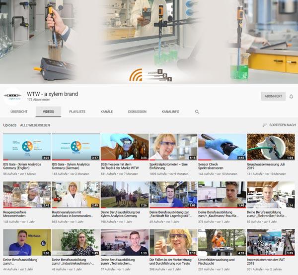 Alle Videos des Brands WTW