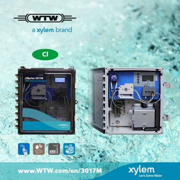 New chlorine analyzer from WTW