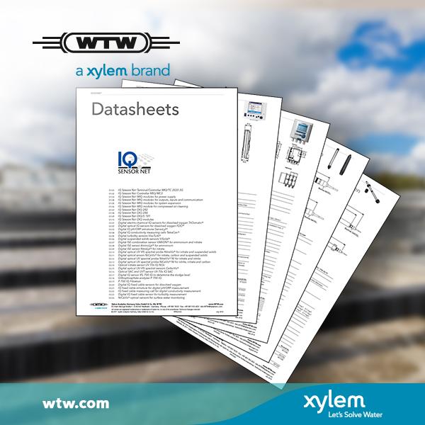 Data sheets - IQ SENSOR NET and process instrumentation