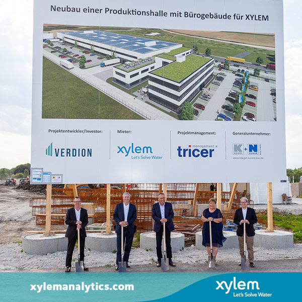 Xylem Analytics, Weilheim Germany - Building for the future