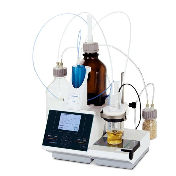 SI Analytics Titrator TitroLine® 7500 KF module with 5 ml exchangeable head